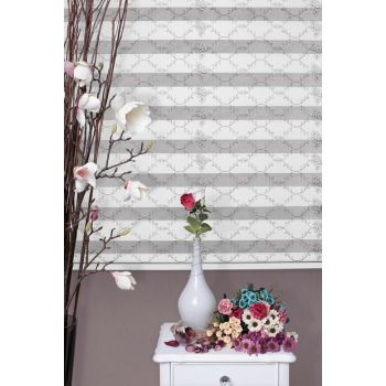 Zebra Roller Blinds Curtain + Skirt Slice Gift Z-101V401