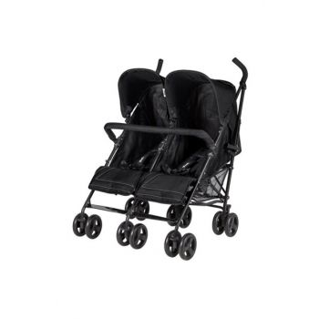 2074 Monart Walking Stick Twin Baby Stroller IB04652