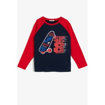 Navy Blue Children's T-Shirt 0KKB16225OK