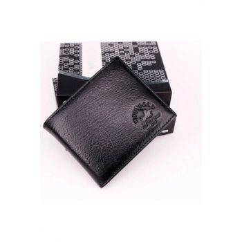 Genuine Leather Black Men Wallet Try11 TRY11