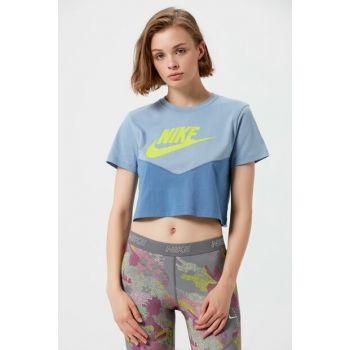 Women's T-shirt - W Nsw Hrtg Top Ss - AR2513-458