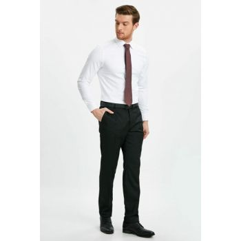 Men's Black Trousers 9SJ962Z8