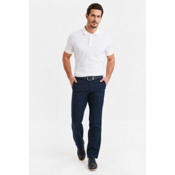 Men's Navy Blue Trousers 9S1109Z8