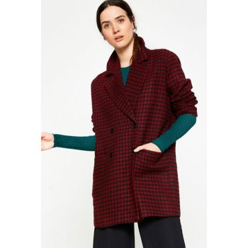 Women's Red Coat 8KAK07289JW