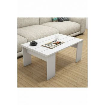 Prida White Coffee Table PUAS1069