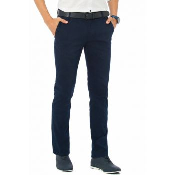 Men's Navy Blue Trousers 7K2245Z8