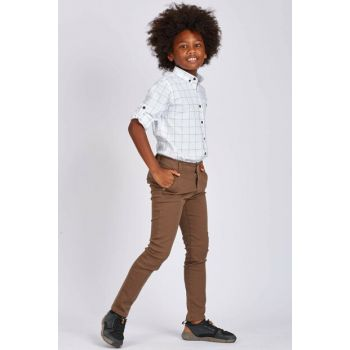 Brown Boy Trousers - 05019