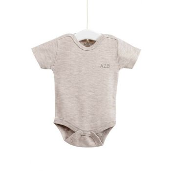 Beige Baby Snaps With Snaps AZZ001651