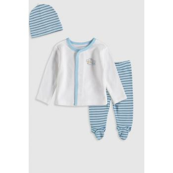 Baby Boy Optical White Ffb Suit 9W3634Z1