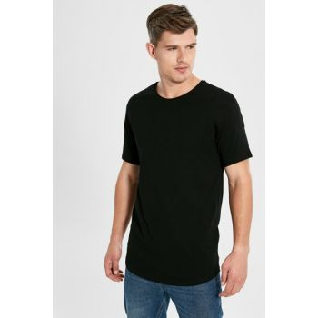 Men's New Black T-shirt 9WU824Z8