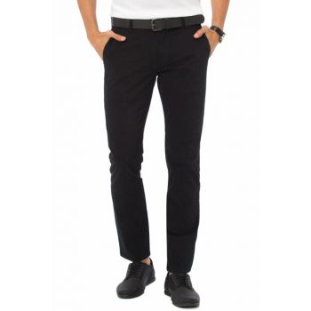 Men's Black Trousers 7K2245Z8