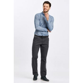 Men's Anthracite Trousers 8W0887Z8