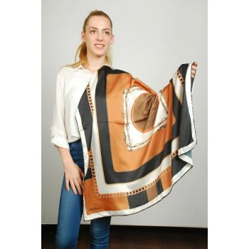 Women Multi Color Sport Polyester Scarf 9351417