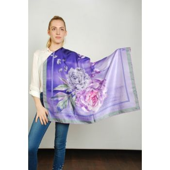 Women Multi Color Sport Polyester Scarf 9351188