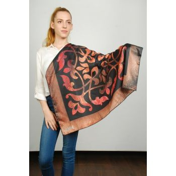 Women Multi Color Sport Polyester Scarf 9351156