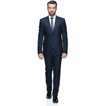 Fernando Mono Tk Yrt 8 Drop Slim Fit Suit - Parlament - 3B5M0413D014