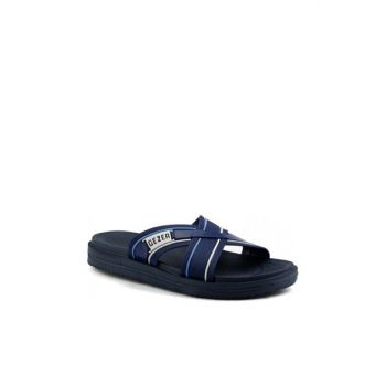 Navy Blue Men's Slipper 19YAYGEZ0000014