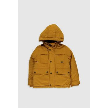 Boys' Dark Yellow H3G Coat 9W3077Z4