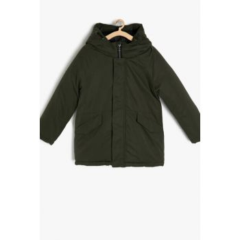 Green Boy Coat 9KKB26291OW