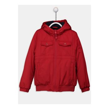 Boys Red Hjq Coats 9W0965Z4