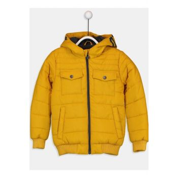 Boys' Dark Yellow Gbg Coat 9W3099Z4