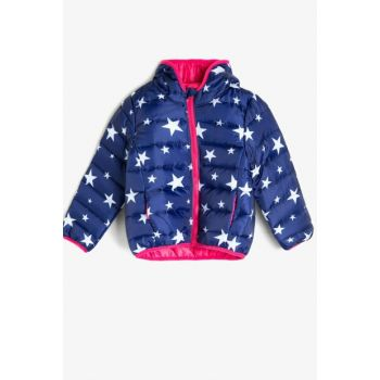 Navy Blue Children's Coat 0KKG29166OW