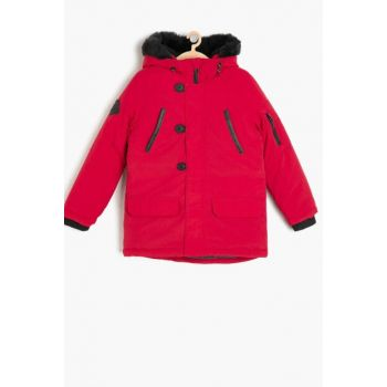 Red Boy Coat 9KKB26285OW