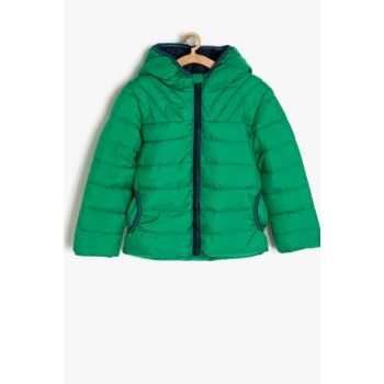 Green Boy Inflatables Coat 9KKB26175OW