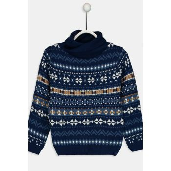 Boys' Lacacivert J2Y Pullover 8W9610Z4 Click to enlarge