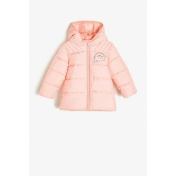 Girl's Hooded Inflatable Coat 0KMG29164OW