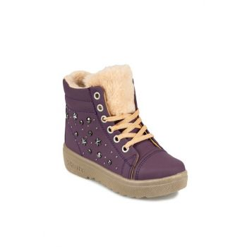 SEVAY G 9PR Purple Girls' Boots