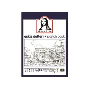Mona Lisa Sketch Book A5 120 gr - 50 Sheets GK01948