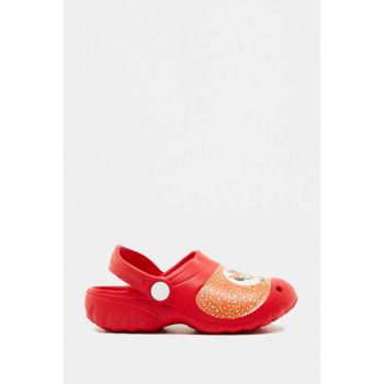 Red Girl Child Slippers 8YKG23025AA