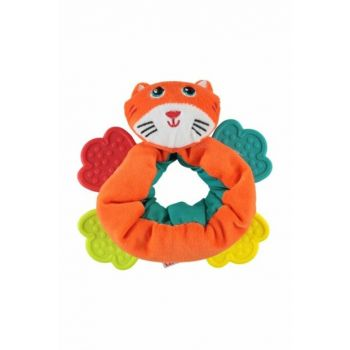 Cat Figured Bracelet With Teether 25326