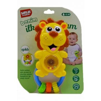 Lion with Rattle Sound Battery ERB03.008