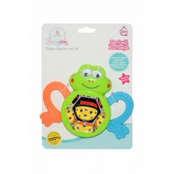 Cute Frog in the Rattle A656661L 0582 B03.0582