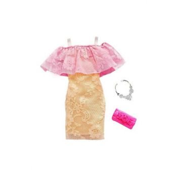Barbie's Latest Fashion Dresses FND47 - Pink - Yavruaz Evening Dress T000FND47-41741