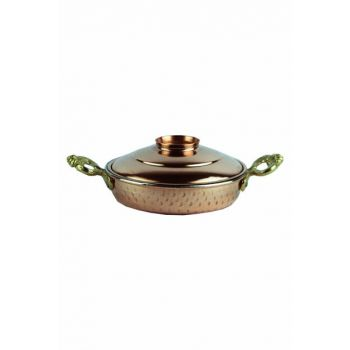 Brass Covered Pan with Handle 5380-2887