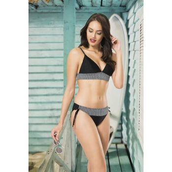 Women's Black Triangle Bikini Set NB19YBK00021