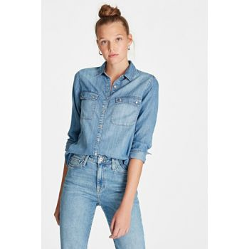 Women's Sammy Indigo Denim Shirt 120890-25644