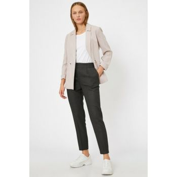 Women's Gray Trousers 0KAK42344UW