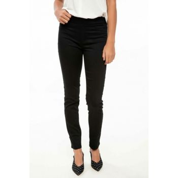 Women's Black Rebeca Skinny Denim Pants I9628AZ.18AU.BK27