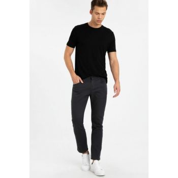 Men's Anthracite Trousers 9W3184Z8