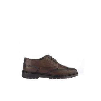 Brown Men's Classic Shoes 02AYY162410A480