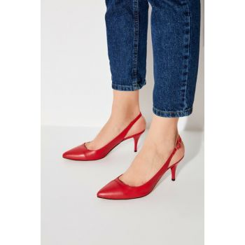 Red Women's Heels Shoes TAKAW20TO0032