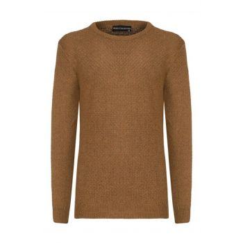 Men's Tobacco Cycling Collar Sweater 360576