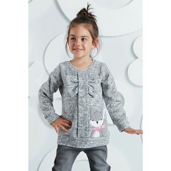 Fox Silvery Girl Sweater OL-19S1-023