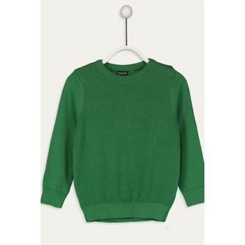 Boys' Leaf Green Jgm Sweater 9W1013Z4