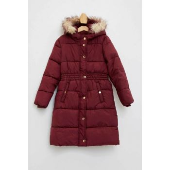 Hooded Long Coat K9390A6.19WN.BR98