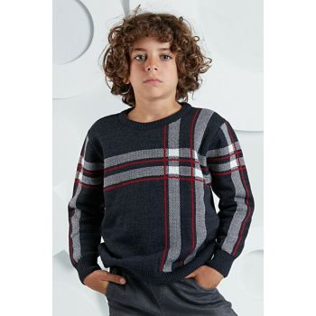 Plaid Boy Sweater Sweater OL-19S1-007